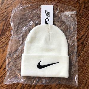 Nike x Stussy Cream Beanie